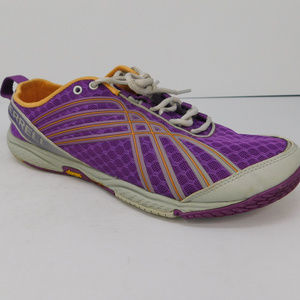 Merrell Road Glove Vibram Purple Womens Size 9